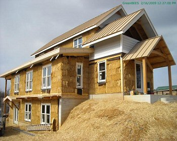 Straw Bale House Property For Sale