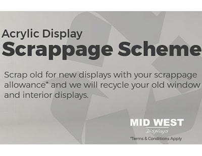 Agency display supplier offers 'acrylic scrappage' scheme