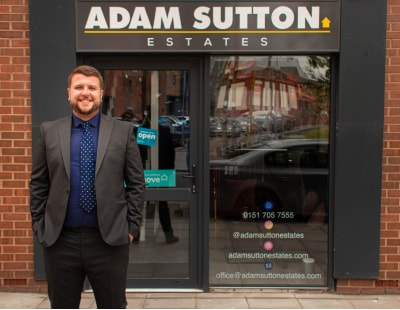 Agent aged 27 sets up his own High Street operation