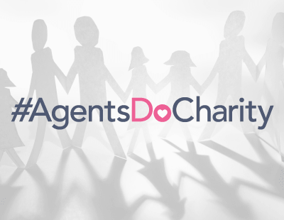 Agents Do Charity - the best-foot-forward-in-the-sun edition...