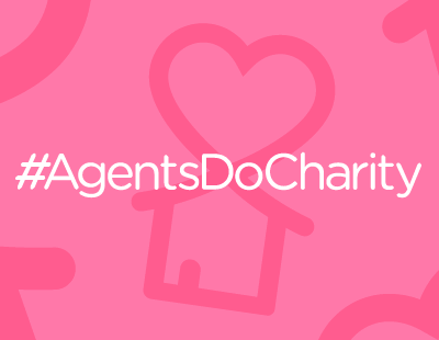 Agents Do Charity - with one eye on 'the match'...
