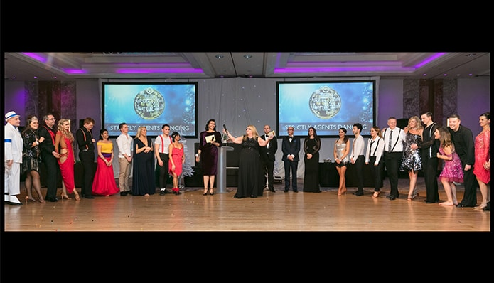 Agents Do Charity - the strictly nearly Christmas edition...