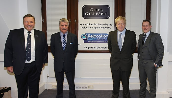 Boris visits an estate agency - not his special place in hell, presumably