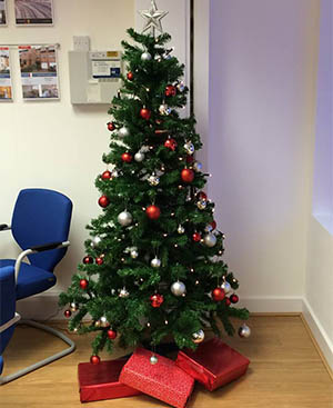 We love your Christmas office pictures - more please!