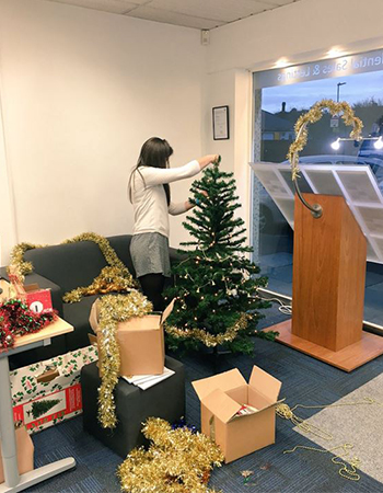 Festive knitware and office decorations - it's yet more agents' photographs!