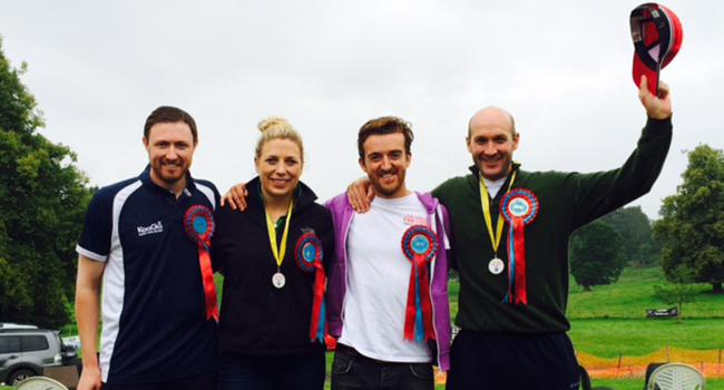 Agents Do Charity - and they're gold medal winners...