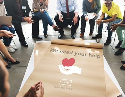 How can estate and letting agents do simple charity work?