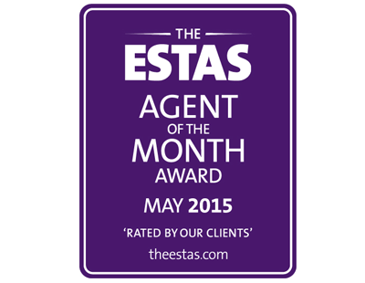 Revealed: the ESTAS agent of the month - is it you?