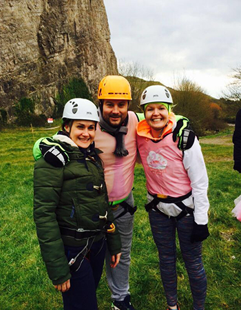 Agents Do Charity - abseiling, tennis-playing and teddy-delivering...