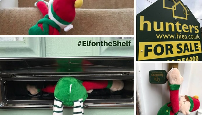 Friday Festive Photos - today it's all about the Elf on the Shelf