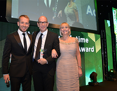 Lifetime achievement award for veteran city centre estate agent