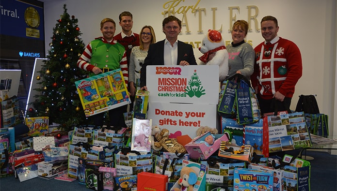 Agents Do Charity - just four weeks before Christmas...