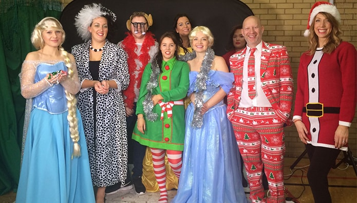 Agents Do Charity - and a last hurrah for festive fund-raising...