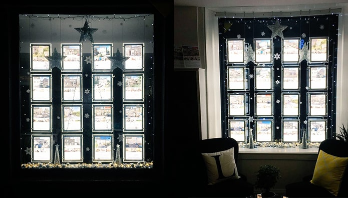 Your Christmas offices - and today is all about the windows...