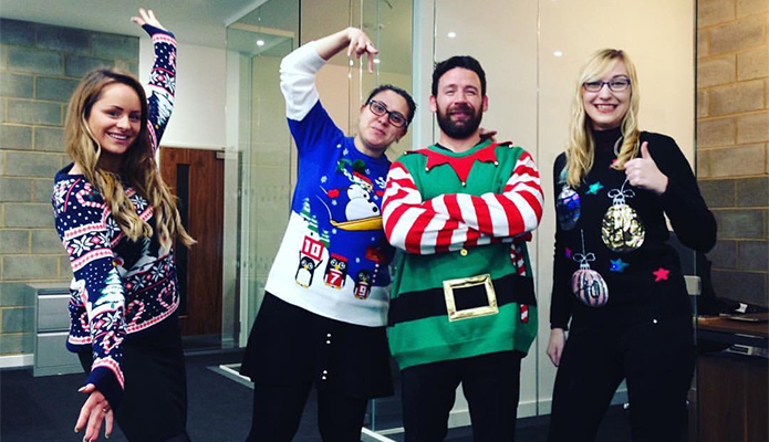 Your Christmas pics - the knitwear edition