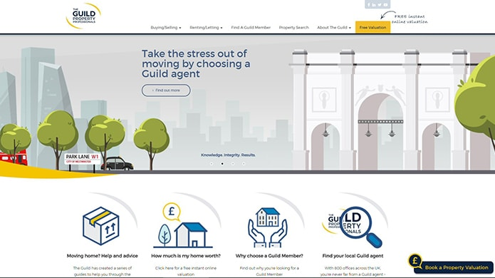 Fresh website for the Guild of Property Professionals