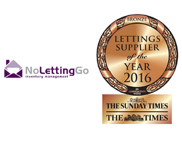 No Letting Go wins coveted award