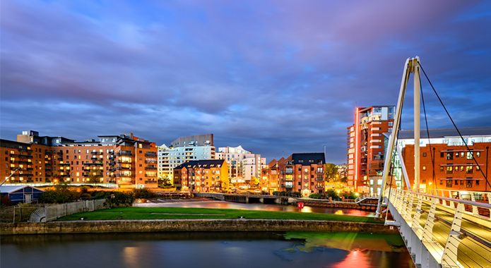 Leeds eyes sustainable ripple effect
