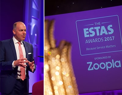 Agents celebrate as ESTAS winners are revealed