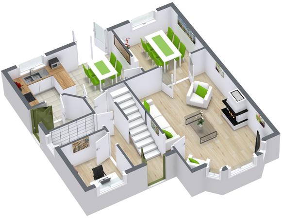 webinar create 3d floor plans quickly easily. Black Bedroom Furniture Sets. Home Design Ideas