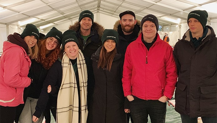 Agents Do Charity - as December arrives and temperatures fall…