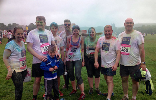 muddy race for charity