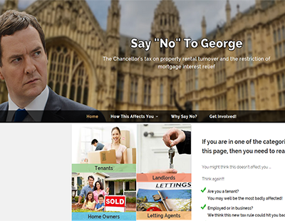 Say no to George before housing crisis