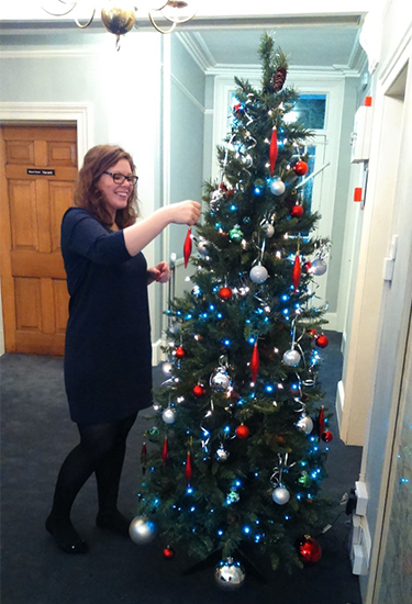 It's Christmas week at last - here are agents' latest office decoration pictures