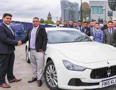 Agency boss rewards top sales manager with Maserati