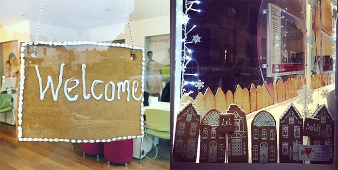 Gingerbread houses and penguins - more of your festive office pics