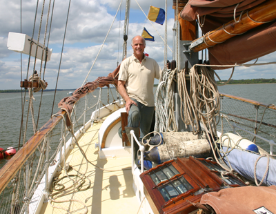 High-end agency chief sets sail in Dunkirk tribute