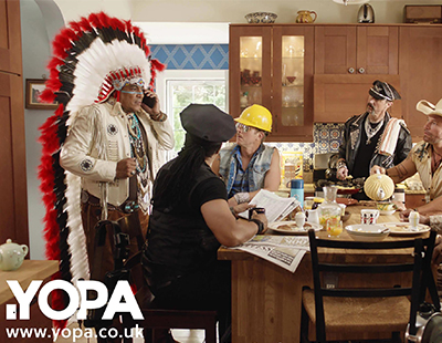 YOPA launches TV ads starring The Village People