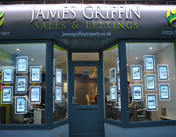 Standout Displays for James Griffin